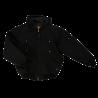 Jackfield quilted fleece lined reversible black jacket