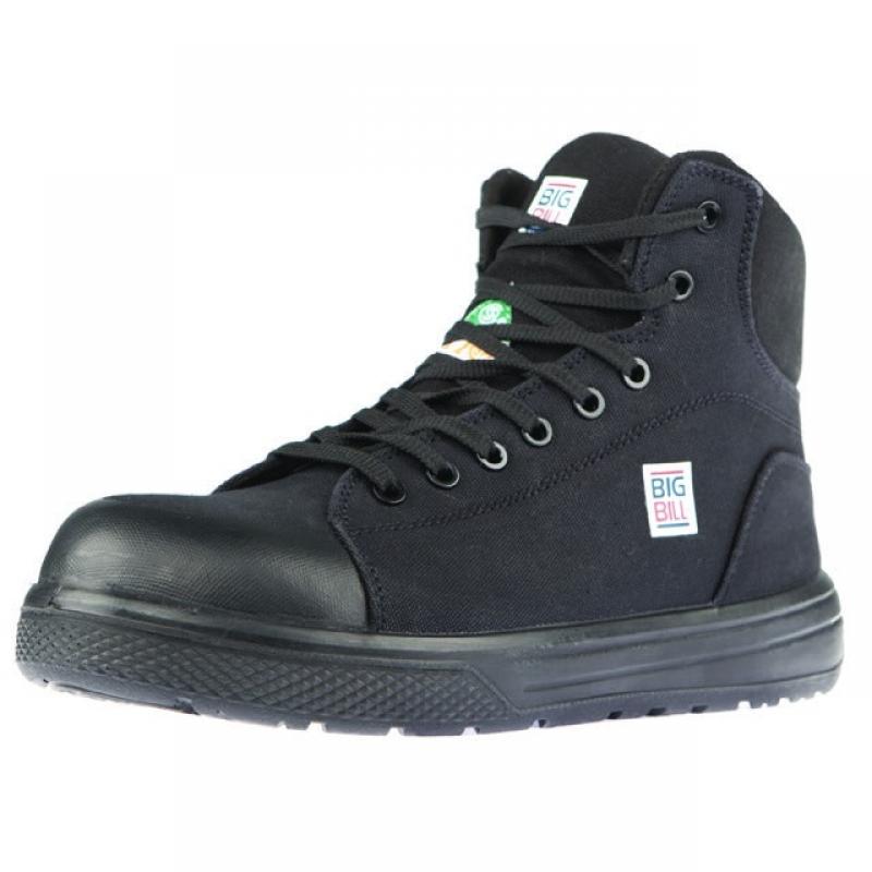 Big Bill Duraflex 6'' black safety bootBig Bill Shoes
