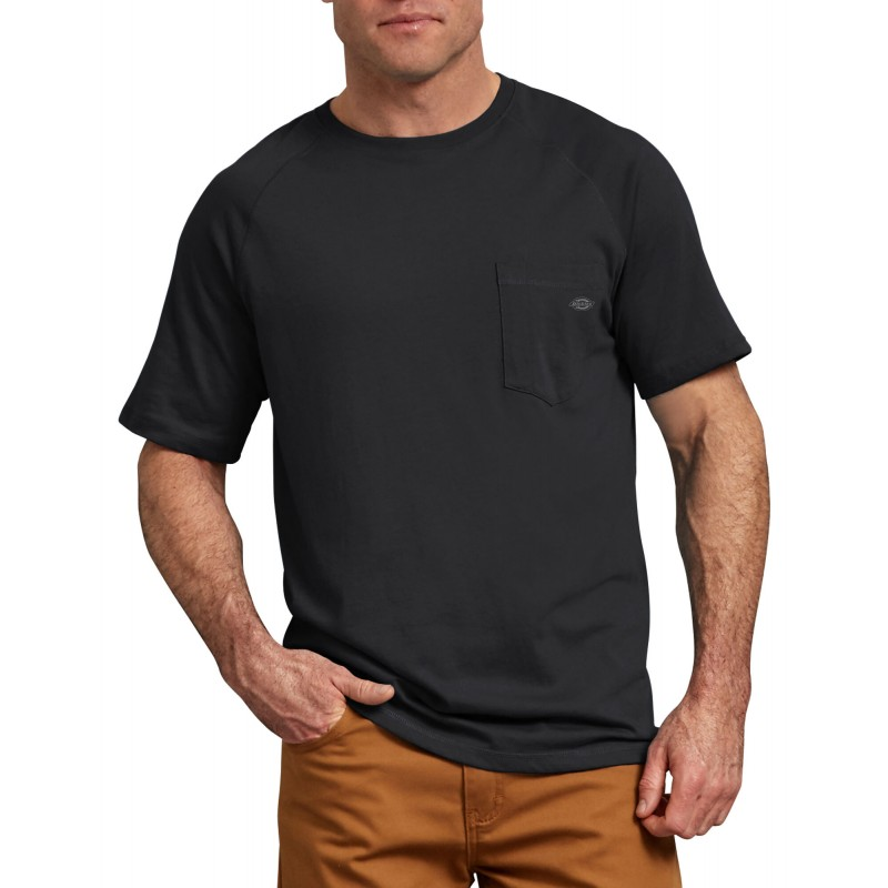 Dickies Temp-iQ® Performance 50%poly/50%cotton S/S t-shirtDickies Workwear