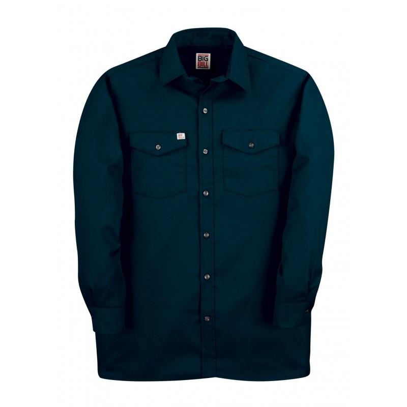 Big Bill long sleeves work shirt 65poly/35/cottonBig Bill Workwear